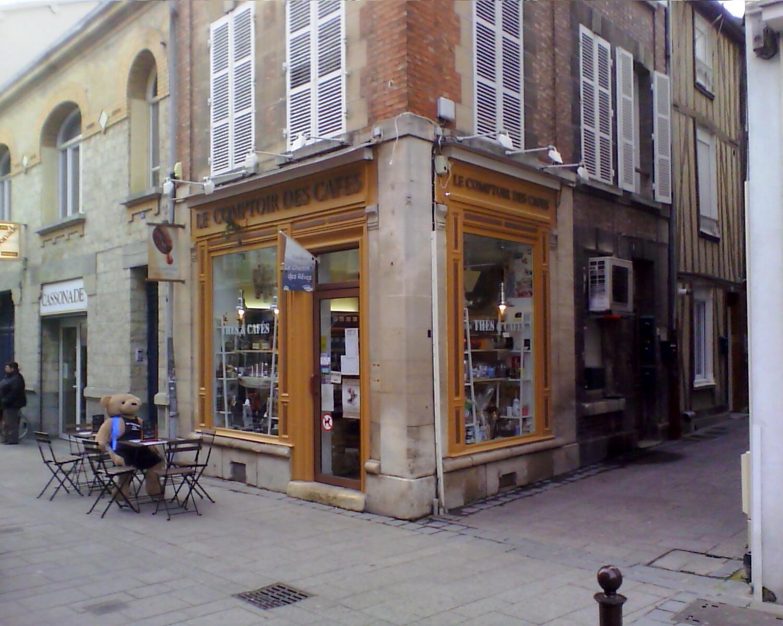 Le Comptoir des Cafés