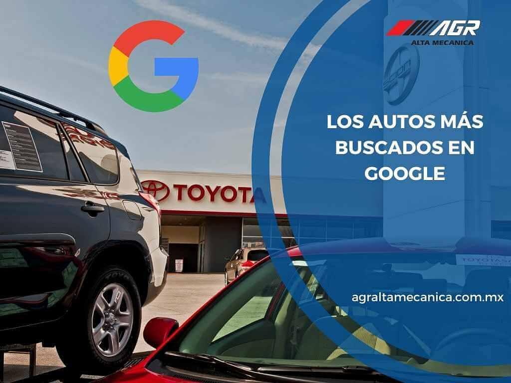 Los autos más buscados en Google
