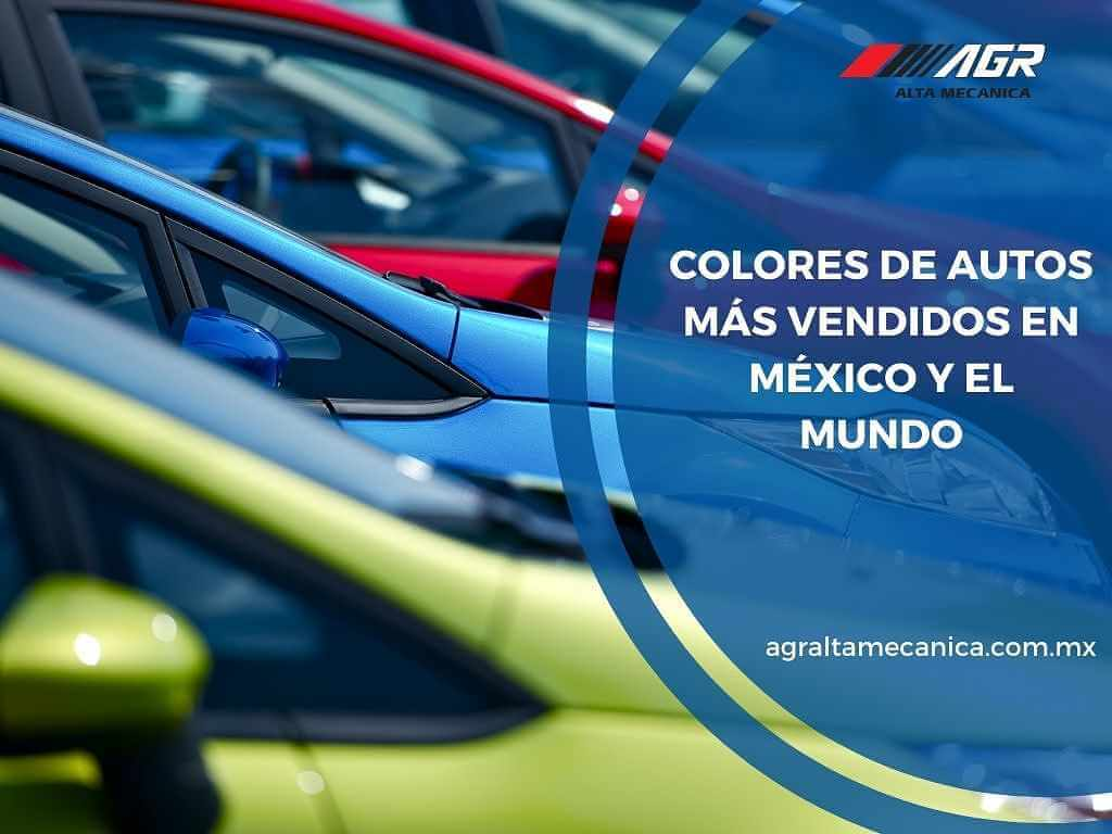 Colores de autos más vendidos en México y el mundo
