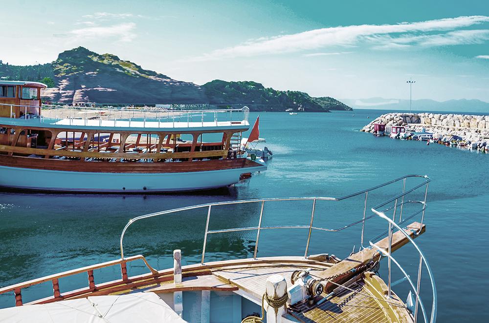 Fototapete Im Hafen
