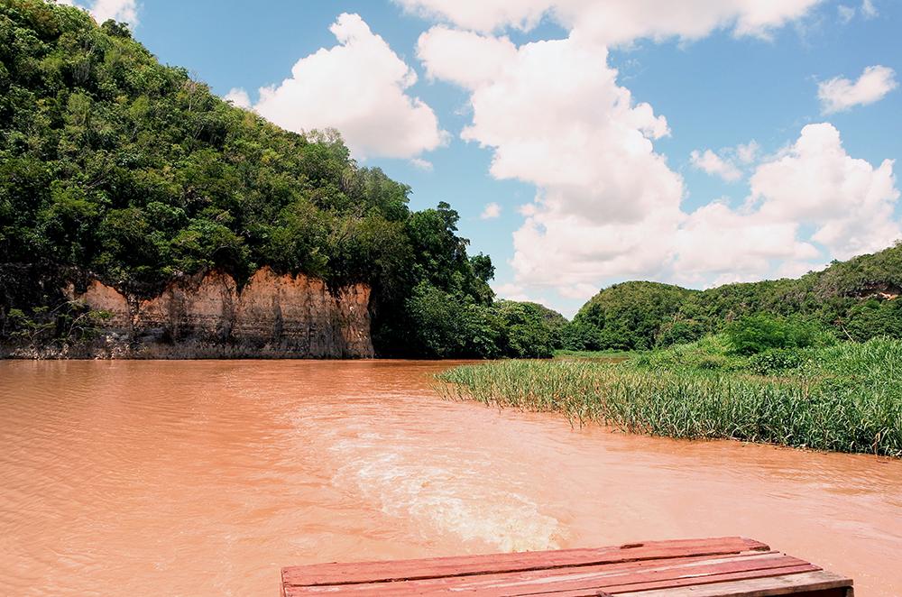 Fototapete  Flusslauf