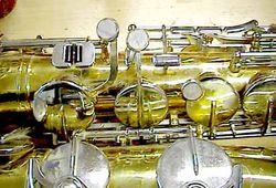 Saxophon Umbau