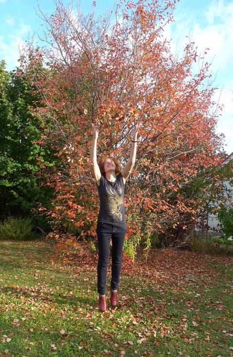Ines Felsenbirne Laub Herbst