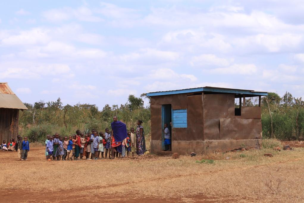 Die neue Küche der Enduet Primary School