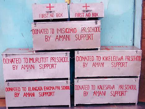 Erste-Hilfe-Kasten für die Schulen