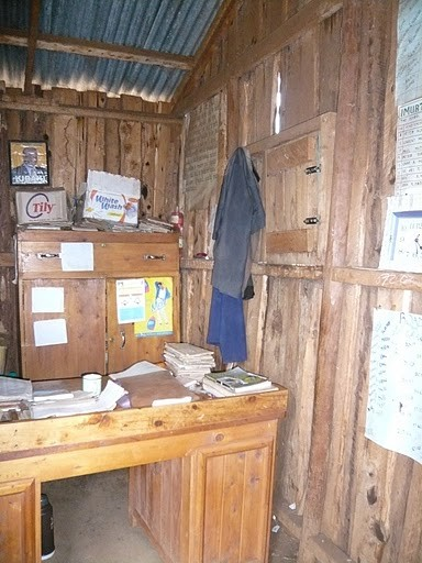 Ein Lehrerzimmer