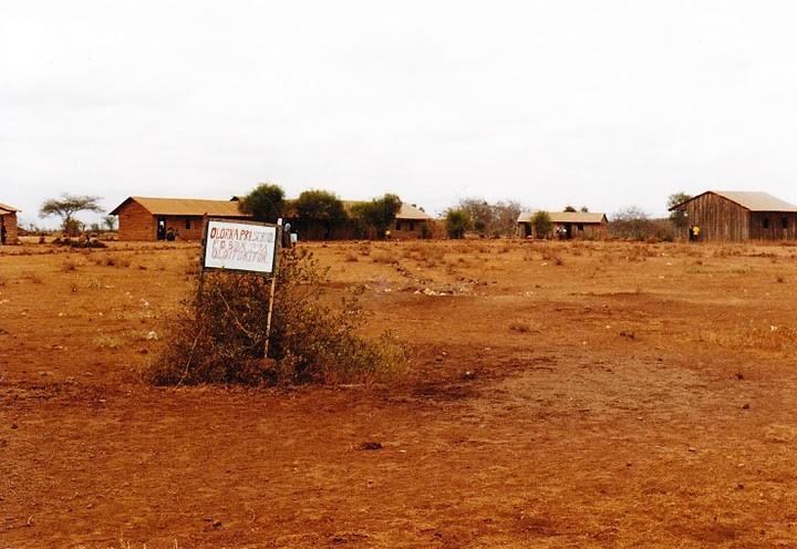 Das Schulgelände der Olorika Primary School