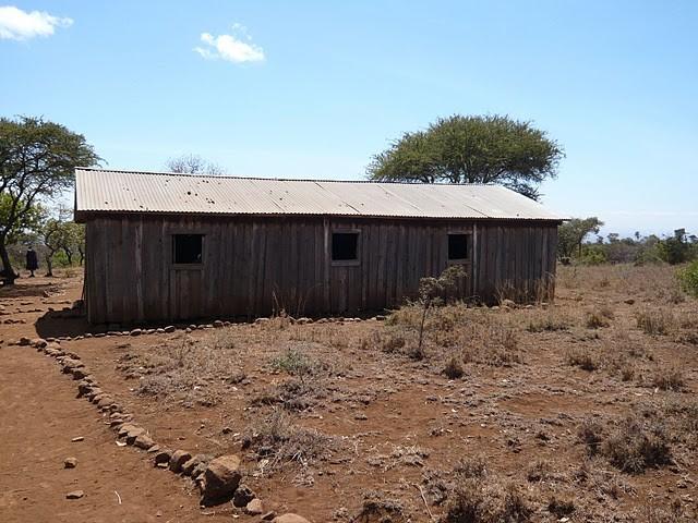Das marode Schulhaus der Olgulului Primary School