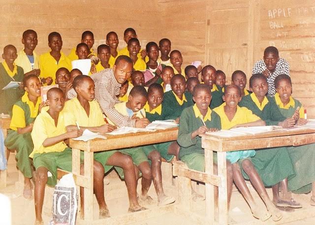 Unterricht an der Olorika Primary School