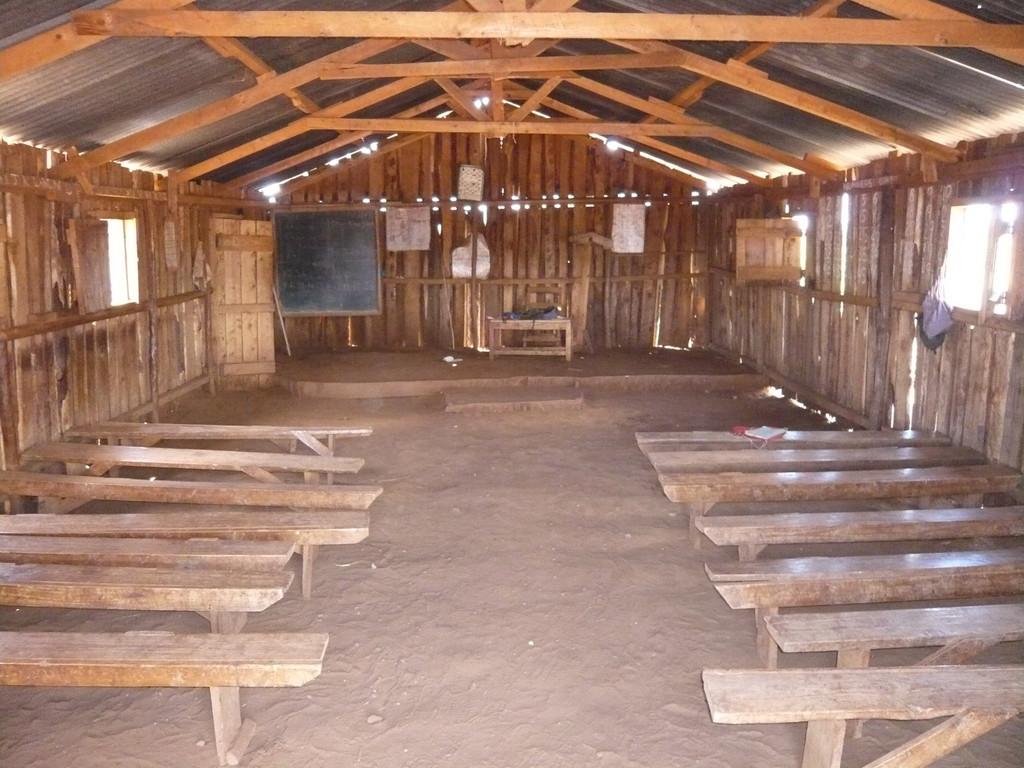 Die Olgulului Primary School bekommt 2011 ein neues Schulgebäude