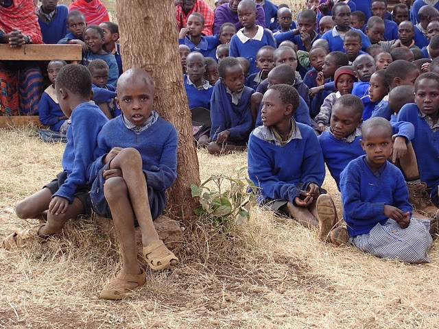 Kinder der Imurtot Primary School