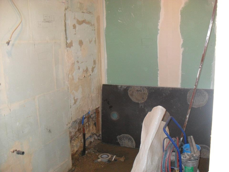 préparation des murs et sols