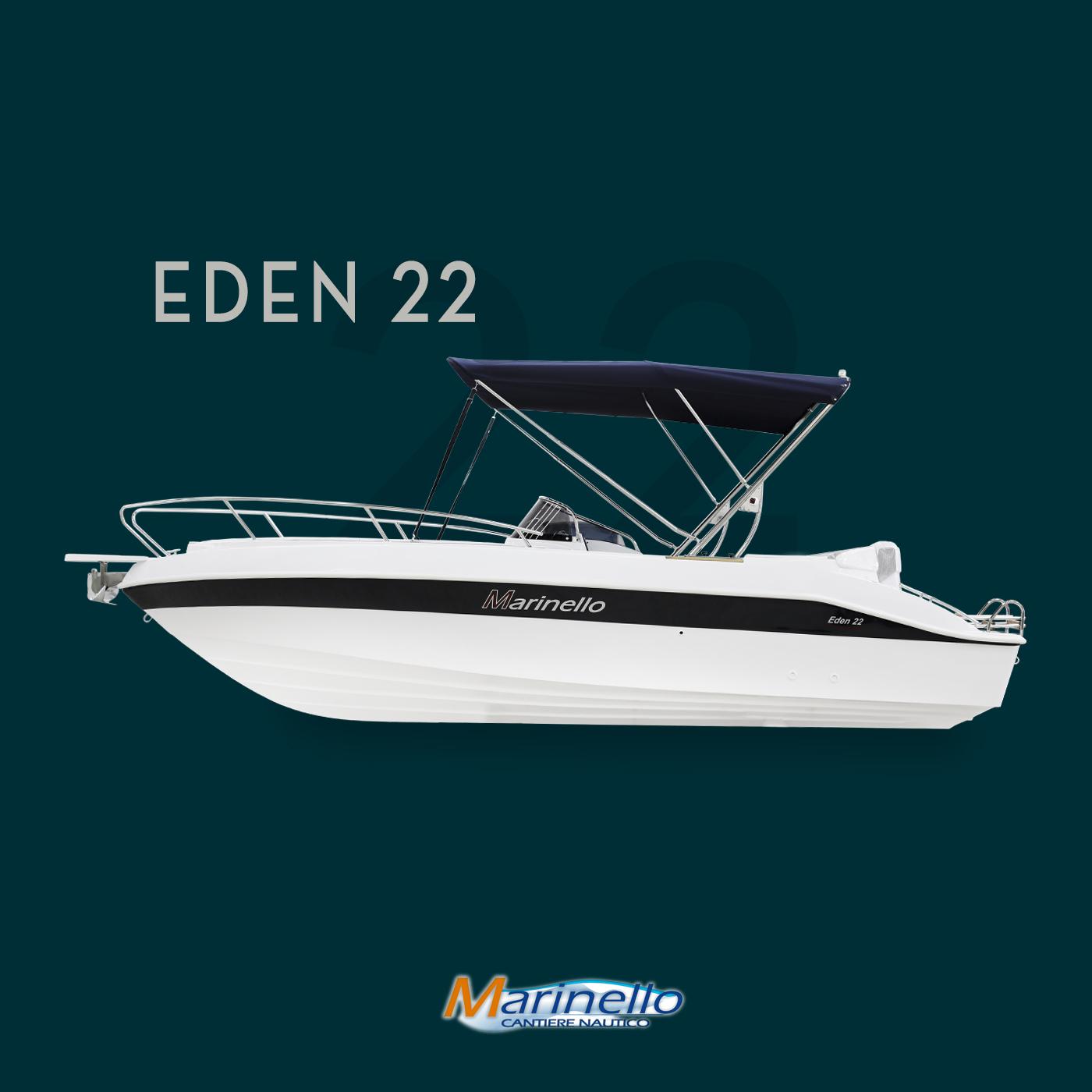 Marinello Eden 22 mit Sonnendach