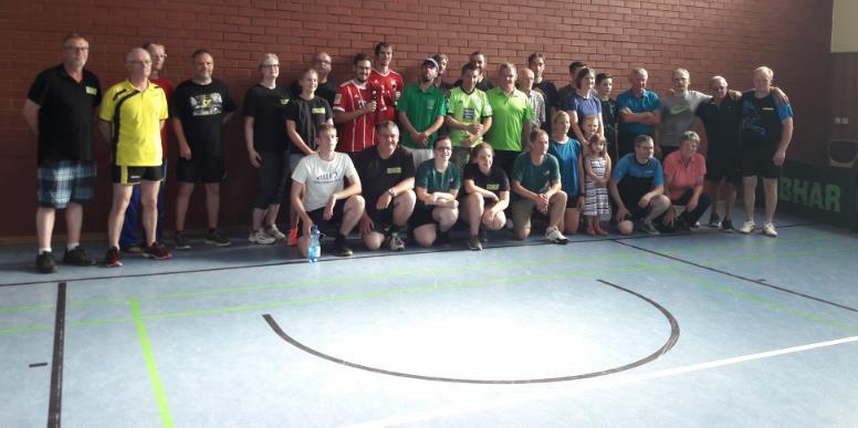 Finales Gruppenfoto nach einem schönen Turnier