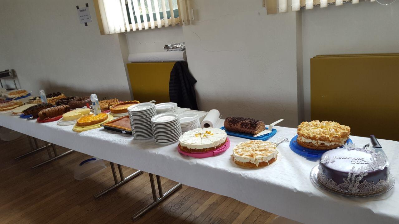 Das ganze Kuchensortiment :-)