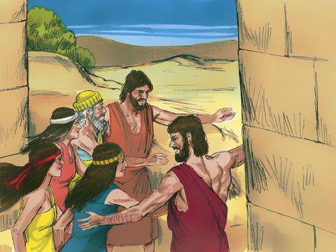 Des anges ont sauvé Lot et sa famille avant d'envoyer une pluie de soufre et de feu pour détruire Sodome et Gomorrhe.