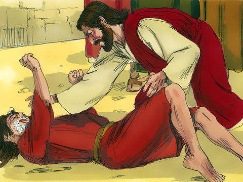 Jésus parlait avec autorité et chassait les démons. Les démons le reconnaissaient et  lui obéissaient. Jésus n'a peur de tien ni de personne.
