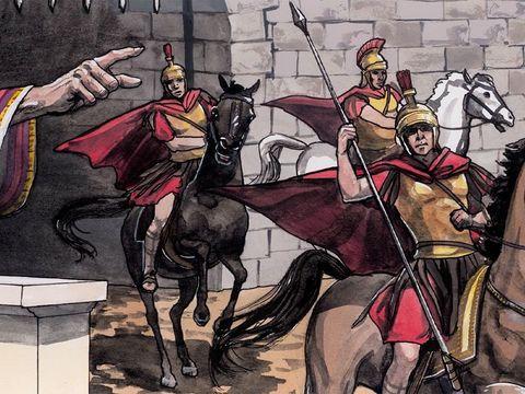Le roi Hérode massacre tous les petits enfants âgés de moins de 2 ans. L'horreur pour les parents de voir leur enfant, leur bébé, se faire tuer par les soldats.