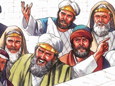 Ce sont les chefs religieux juifs qui mettent à mort Jésus-Christ. Ils crient afin que Pilate le mette à mort.