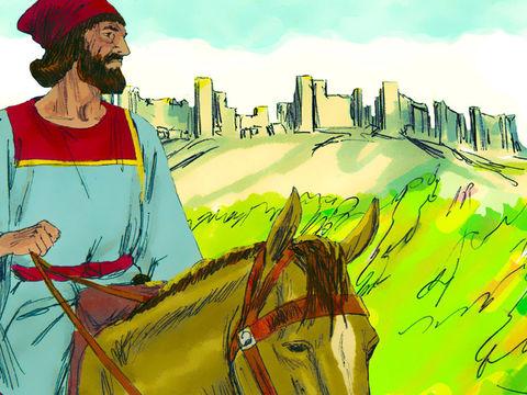 Au mois de Nisan (mars) suivant, nous sommes alors en 444, le roi remarque la tristesse de Néhémie et l'autorise à se rendre à Jérusalem. C'est donc à partir de l'an 444 av J-C que seront calculées les 69 semaines d'années menant à la mort du Christ.