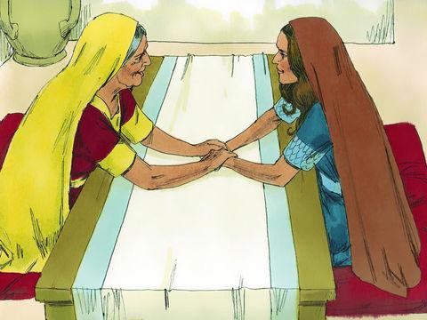 Ruth et Naomi sont unies.