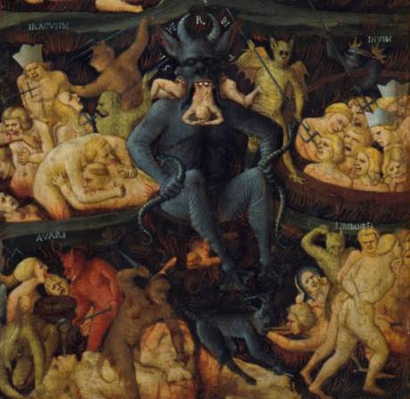 L'Apocalypse de Pierre donne une description des enfers absolument abominable, pleine de puanteur, de matières fétides, de boues, de feu, infligeant des tourments terribles, se faisant rôtir, frapper, fouetter.