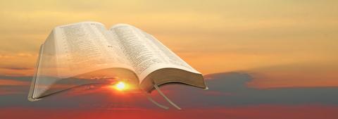 John Wyclif rejette l'autorité spirituelle de l'Église et ne reconnaît pour seule source de la Révélation que les Saintes Écritures inspirées de Dieu.