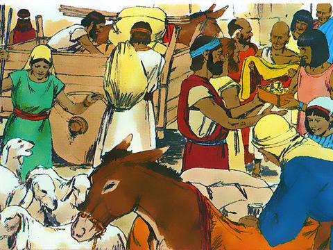 Les gâteaux sans levain également appelés « pains de misère » ou « pains d'affliction » selon les traductions, devaient leur rappeler leur départ précipité du pays d'Egypte.