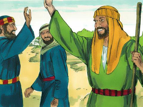 Après avoir rendu témoignage et prêché la parole du Seigneur, Pierre et Jean retournèrent à Jérusalem, annonçant la bonne nouvelle dans beaucoup de villages des Samaritains.