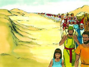 L'amertume des eaux de Mara a un jour poussé les Israélites à murmurer contre Moïse. En effet, voilà 3 jours que les Israélites marchent dans le désert sans trouver d'eau. Quand ils arrivent enfin à Mara, ils ne peuvent boire l'eau amère de ce lieu.