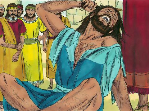 Les Israélites libérés de Babylone sont allés jusqu'à imiter les pratiques détestables des nations voisines. Esdras déchire alors ses vêtements. Il se sent terriblement accablé et reste assis jusqu'au soir.
