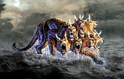A la fin du 1er siècle, l'apôtre Jean, exilé sur l'île de Patmos, reçoit une vision: une bête impressionnante avec 7 têtes et 10 cornes monte de la mer. Cette bête est liée à la vision que le prophète Daniel en exil à Babylone reçue 650 ans plus tôt.