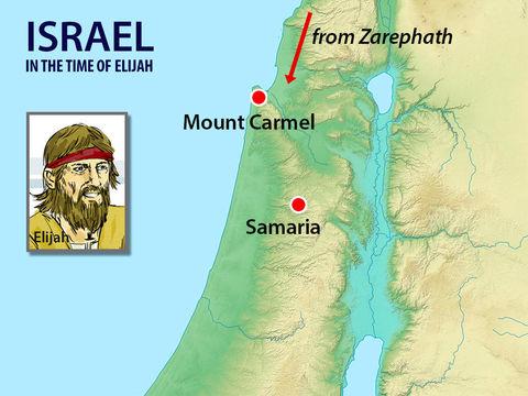 La vallée de Jizréel. Le mont Carmel et Samarie.