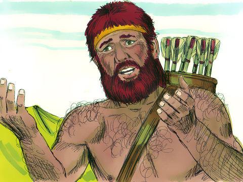 Esaü a été jaloux que son droit d'aînesse soit donné à son frère Jacob. Esaü conçut de la haine contre Jacob, à cause de la bénédiction dont son père l'avait béni;