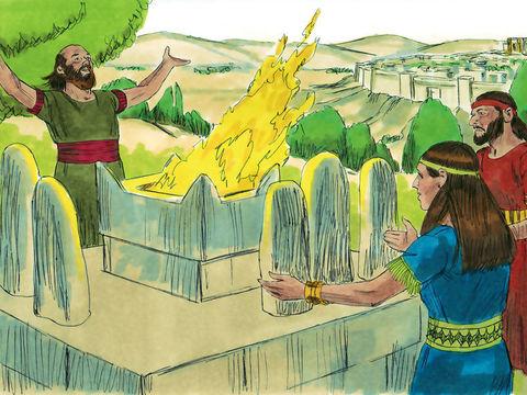 La vallée de Hinnom est associée aux cultes idolâtriques qui cessent lorsque le roi Josias (règne 640-608), petit-fils de Manassé et dernier bon roi de Juda, profane le Tophet en y répandant les ossements humains des prêtres.