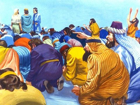 Tout comme les 3 Hébreux qui ont refusé de se prosterner devant la statue du roi Nebucadnetsar, ils refuseront la marque du système idolâtrique de la bête. Ils garderont leur intégrité.