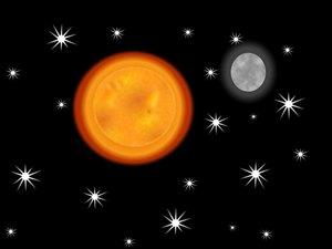 L'éclat du Soleil est bien plus puissant que celui de la lune et la lune est bien plus visible de la Terre que les étoiles. Les étoiles elles-mêmes n'ont pas toutes la même intensité. L'éclat et la gloire de Dieu, de Jésus et des anges sont différents.