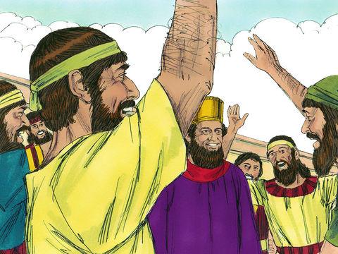 Le 13ème jour du mois d'Adar (février/mars), ce sont les Juifs qui dominent ceux qui les détestent. De plus, tous les chefs de province, les satrapes, les gouverneurs et les fonctionnaires du roi soutiennent les Juifs, tant ils ont peur de Mardochée