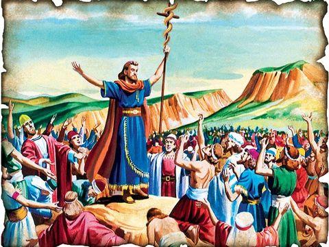 Le bon roi Ezéchias, fils de l'horrible Achaz, a servi Jéhovah Dieu. Il a fait disparaître les hauts-lieux, brisé les statues et a mis en pièces le serpent de bronze fabriqué par Moïse car les Israélites avaient jusque là brûlé des parfums devant lui.