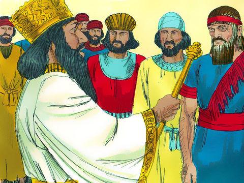 Darius établit des responsables pour gérer les affaires du royaume, parmi eux se trouve le prophète Daniel en qui le roi a toute confiance. Le prophète devient l'un des trois ministres supervisant les 120 satrapes établis sur tout le royaume.