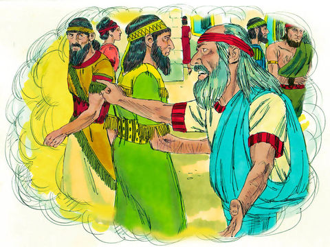 Dieu lui-même, assis sur son trône de gloire, demande au prophète d'aller vers les Israélites qualifiés de « communauté de rebelles » pour leur communiquer sans crainte les paroles du Tout-Puissant.