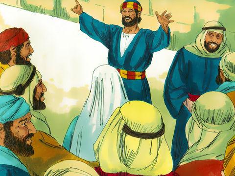 Loin d'obéir à cet ordre, les apôtres propagent encore davantage la Parole de Dieu et « le nombre de ceux qui croyaient au Seigneur, hommes et femmes, augmente de plus en plus » (Actes 5 :14). Les apôtres accomplissent de nombreux miracles, ce qui attire.