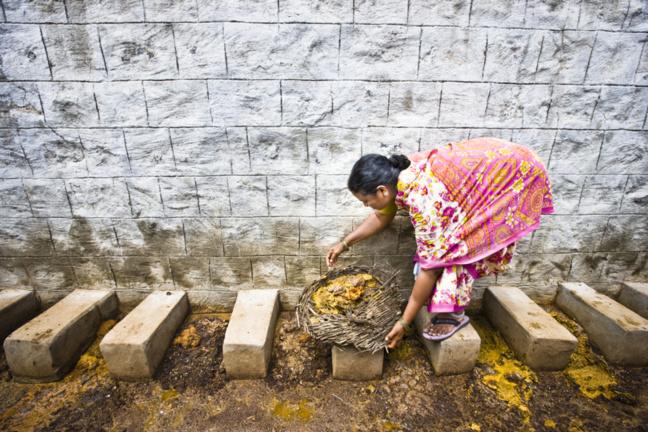 Le travail manuel est réservé aux castes inférieures comme les Chandalas, les Dalits ou Intouchables (tout comme le travail de nettoyeurs d'excréments humains, ramasseurs de cadavres) contraints aux tâches les plus dégradantes, sales et dégoutantes.