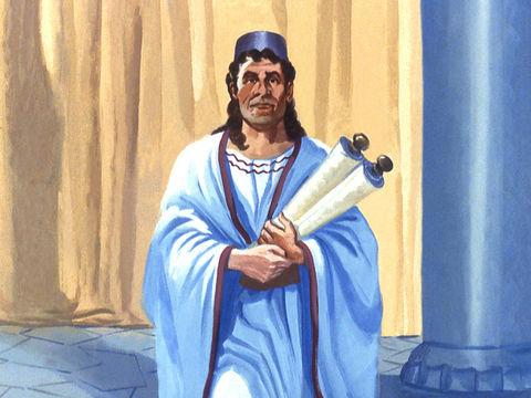 Le rouleau de Cyrus est retrouvé à Ecbatane  - le décret indiquait que les Juifs pouvaient retourner à Jérusalem et y rebâtir le Temple de Jéhovah.