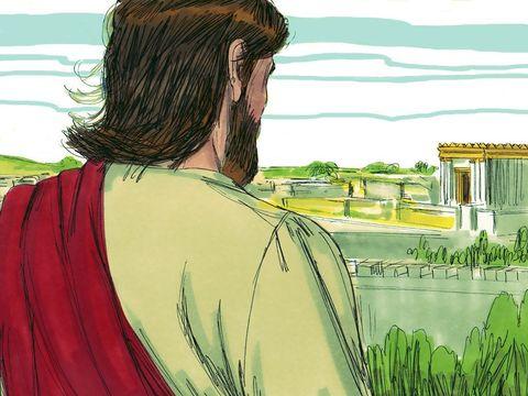 Jésus a pleuré sur Jérusalem car il savait qu'elle allait subir une destruction totale par les armées romaines. Des jours viendront pour toi où tes ennemis t'entoureront d'ouvrages fortifiés, t'encercleront, te serreront de tous côtés et te détruiront.