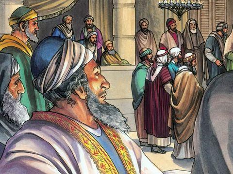 Avec beaucoup de franchise et de fermeté, Jésus dénonce combien les chefs religieux juifs aiment les premières places dans les festins, les premiers sièges dans les synagogues, combien ils aiment être salués dans les places publiques.
