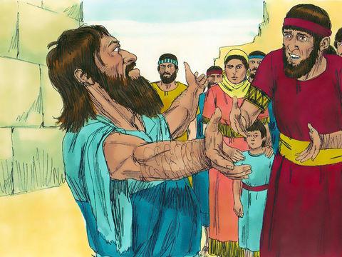 Alors qu'ils ont quitté Babylone et rétabli le culte pur en reconstruisant le Temple de Jérusalem, les Israélites sont par la suite tombés dans les mêmes pratiques idolâtres, celles-là même qui avaient précipité la destruction de Juda et de Jérusalem !