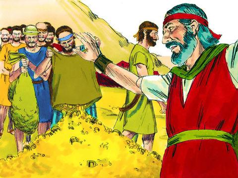 Les Israélites ont donné généreusement selon leur cœur de grandes quantités de matériaux pour la construction du Tabernacle pour le culte de Jéhovah.