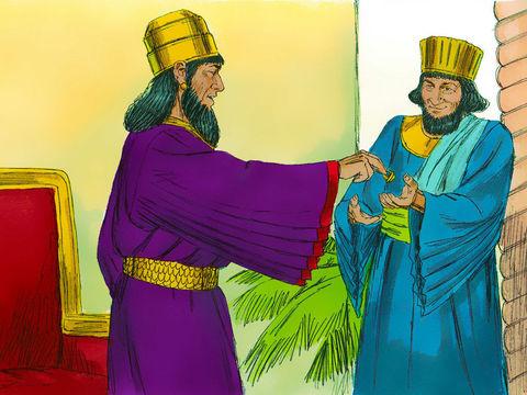 Au temps du roi Assuérus de Perse, le récit de la reine Esther de Perse. Lorsque les Juifs ont été menacés d'extermination, ils se sont habillés de sacs et se sont couverts de cendres. Ils ont aussi jeûné et pleuré.