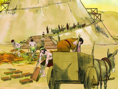 Construction de la tour de Babel, projet orgueilleux, pour rassembler les hommes et mieux les dominer, pour rivaliser avec Dieu. Ce projet constitue une véritable démonstration d'orgueil qui s'oppose directement au dessein de Dieu de remplir la terre.